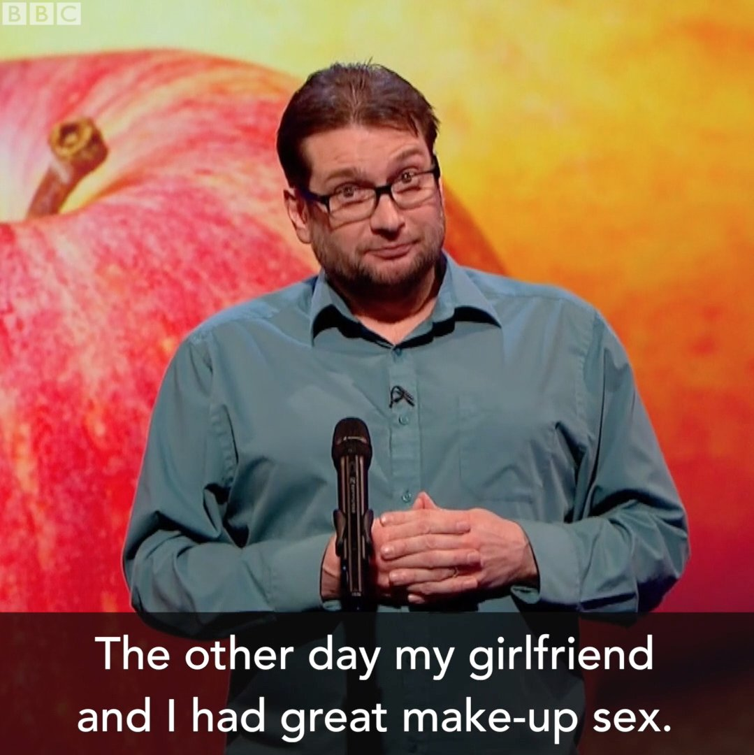 60 seconds of killer one-liners, GO GO GO! @GaryDelaney @MockTheWeek https://t.co/UwQezSIrDF