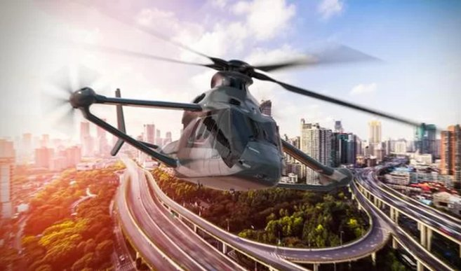 Meet the RACER: Rapid and Cost-Effective Rotorcraft -- a quiet, eco-friendly helicopter.