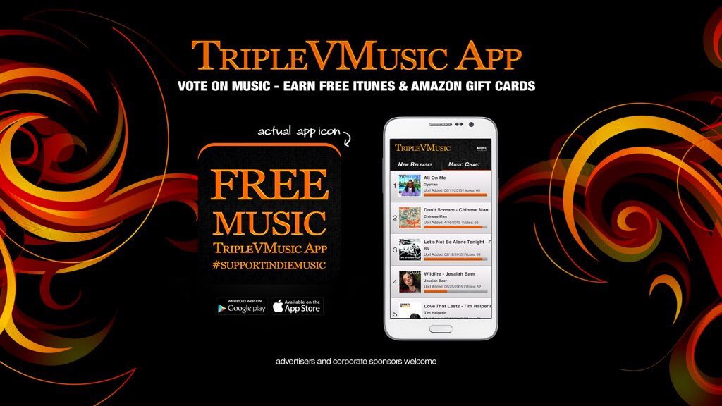 RT &amp; LIKE If you downloaded the  http:// TripleVMusic.com  &nbsp;   App because you love  #music &amp; FREE gift cards ! #AmericanIdol #TheVoice<br>http://pic.twitter.com/1HbXbueUBQ