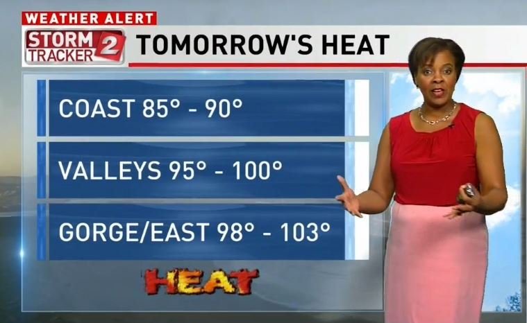 On KATU this AM @shelbykatu is getting you ready for the #PDXHeatWave.  #LiveOnK2 #pdxtst #orwx #wawx<br>http://pic.twitter.com/syoj42Nyve