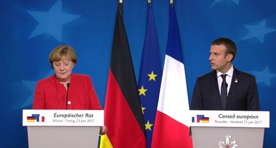 French Pres #Macron: &quot;When #France and #Germany don&#39;t agree, Europe doesn&#39;t move forward. It doesn&#39;t work.&quot; #EUCO<br>http://pic.twitter.com/o5L5IWPgcC