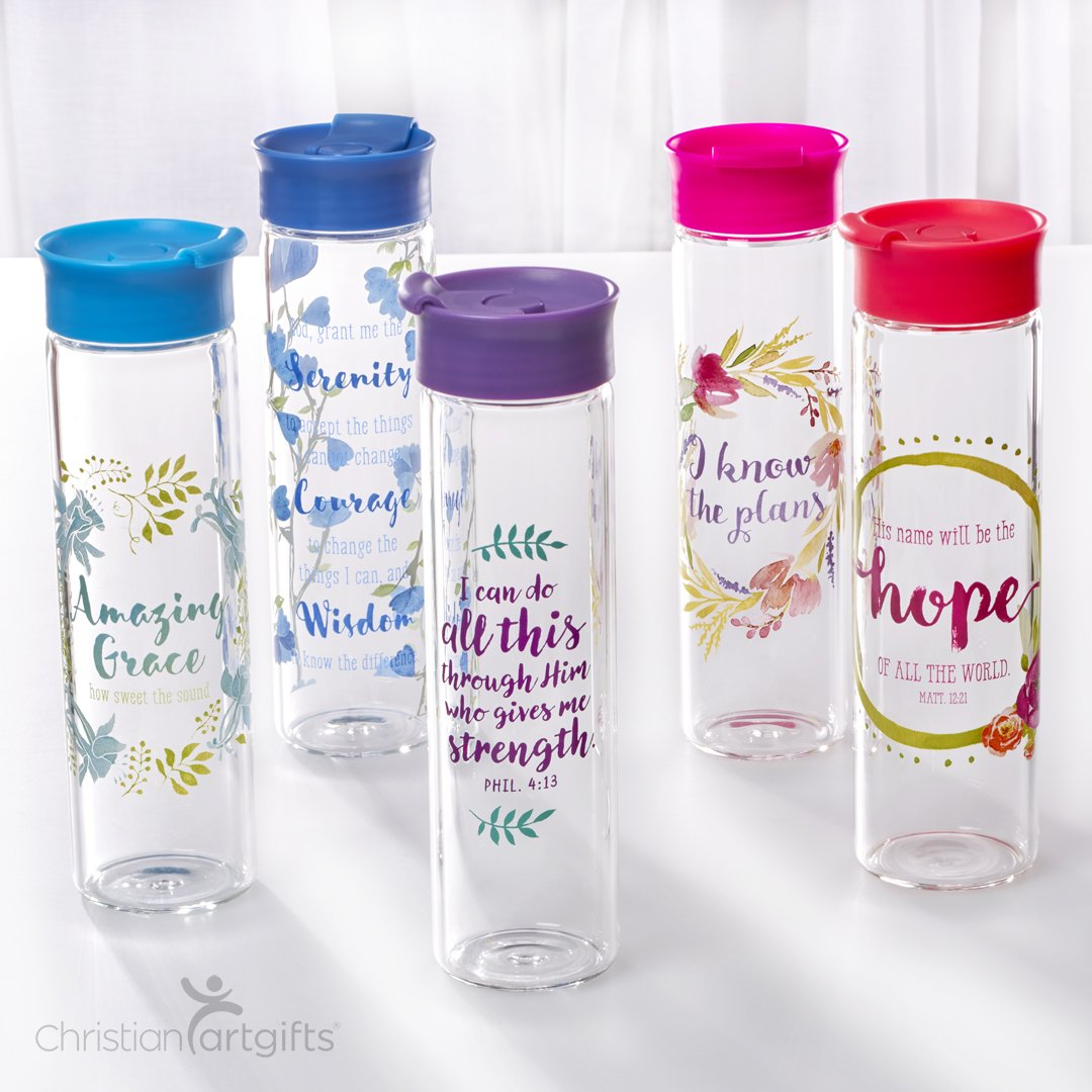 &quot;The water I give them will become in them a spring of water welling up to eternal life.&quot; #John 4:14  #waterbottle #christianproducts<br>http://pic.twitter.com/eY9mJTLEF2