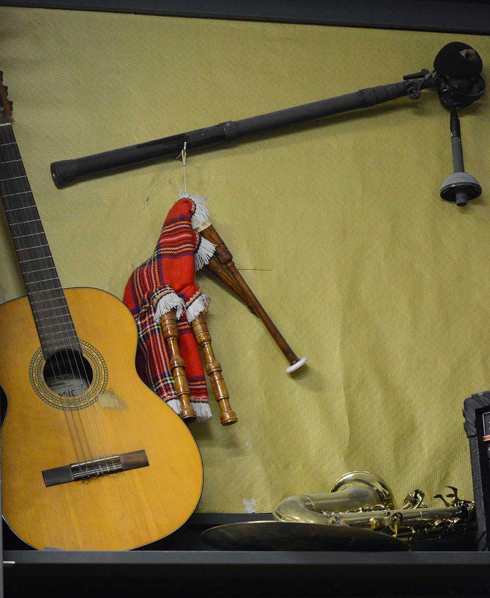 [#ImageDuJour📸] Cornemuse, cymbale et guitare, découvrez les #instruments de musique du service des objets trouvés 👉 https://t.co/eX6VovZVzl
