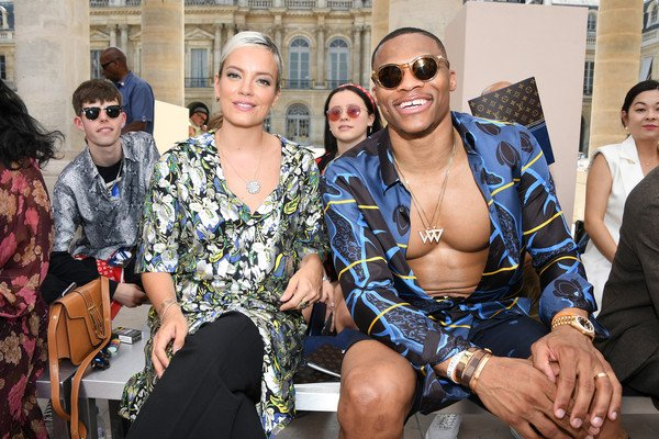 Russell Westbrook Feeling Relaxed at Paris Fashion Week https://t.co/1Cp0qyrRua