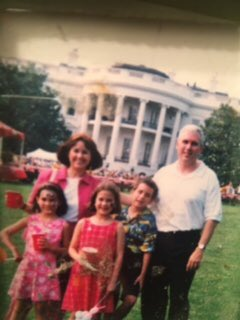 #FlashbackFriday: Thanks to @POTUS &amp; @FLOTUS for hosting a great @WhiteHouse Congressional Picnic. Our family from 2001 &amp; last night.<br>http://pic.twitter.com/lfK2ZDyEXc