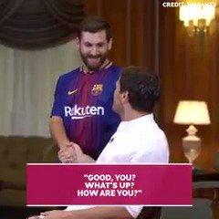 When Iker Casillas met the Iranian Messi... Awkward. 😆