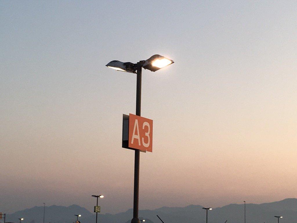 北九州空港のA3!  (ファンミ楽しみだぁ〜) #エースリー