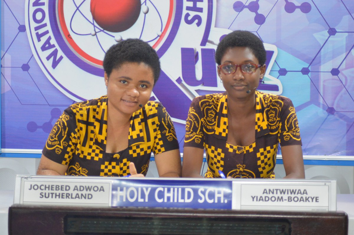 """NSMQ Ghana on Twitter: """"Holy Child School - God's best with our ..."""