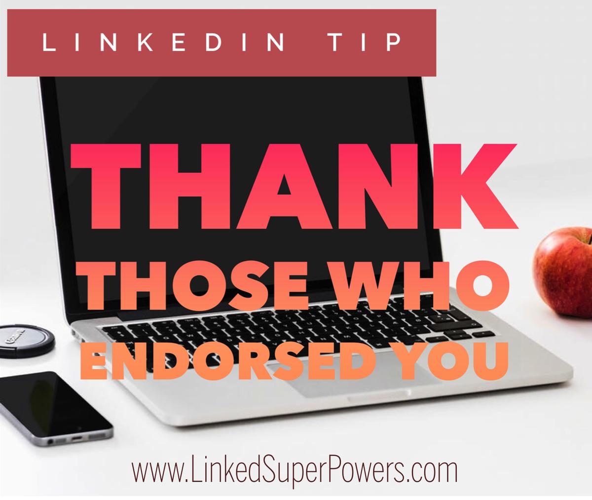 For numerous LinkedIn Tips &amp; Strategies, visit our Blog at:  https:// linkedsuperpowers.com/blog  &nbsp;   #LinkedIn #Endorsements  #Tip #LinkedSuperPowers<br>http://pic.twitter.com/XutKpbnnLI