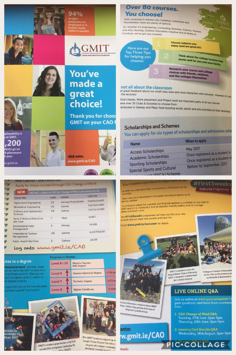 Still time to choose @GMITOfficial as your higher education institute in Sept. #CAO #gmitnews<br>http://pic.twitter.com/JlBp2t11XX