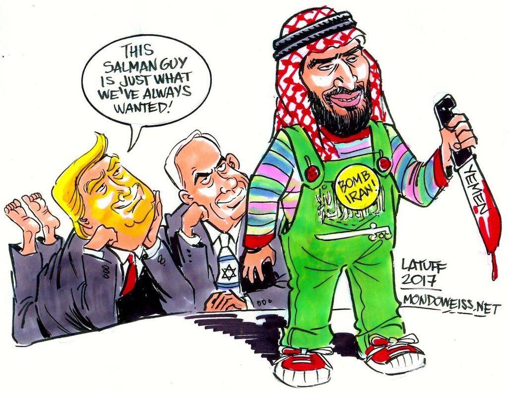 A monster created! #USA #KSA #Israel #Yemen #Zionist #Trump  What next! <br>http://pic.twitter.com/uWXJFR8TlK