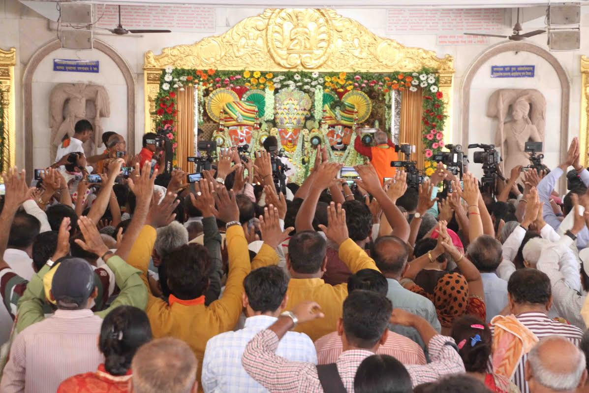 Netrotsav puja performed ahead of Rath Yatra in Ahmedabad