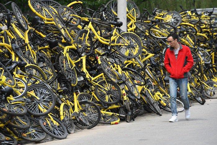 中国の自転車シェアリング大手、世界へ拡大 7月には日本にも ──文字通り「乗り捨て」感覚  https://t.co/d4o83GwWRc … #中国 #シェアリング #mobike