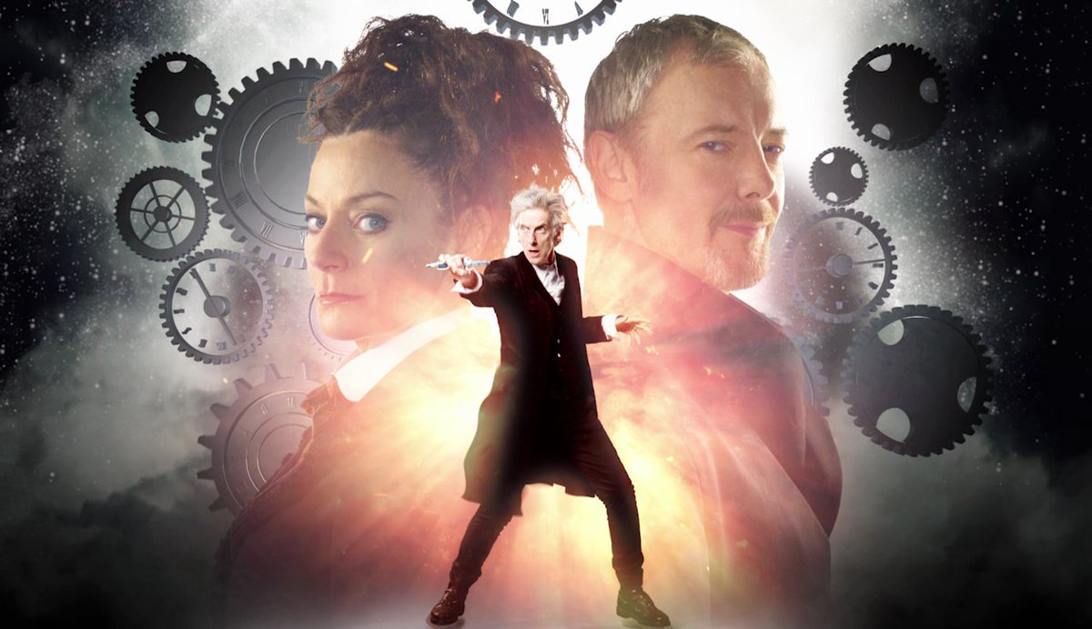 Two Masters, one Doctor… World Enough and Time - tonight at 6.45pm on...