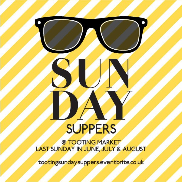 #SUNDAYSUPPERS start this weekend! Inspired by #SPICE with @graveneygin @minashop1 @koiramenbar @nuvola_bakery  http:// tootingsundaysuppers.eventbrite.co.uk  &nbsp;  <br>http://pic.twitter.com/DbMzNFucQw