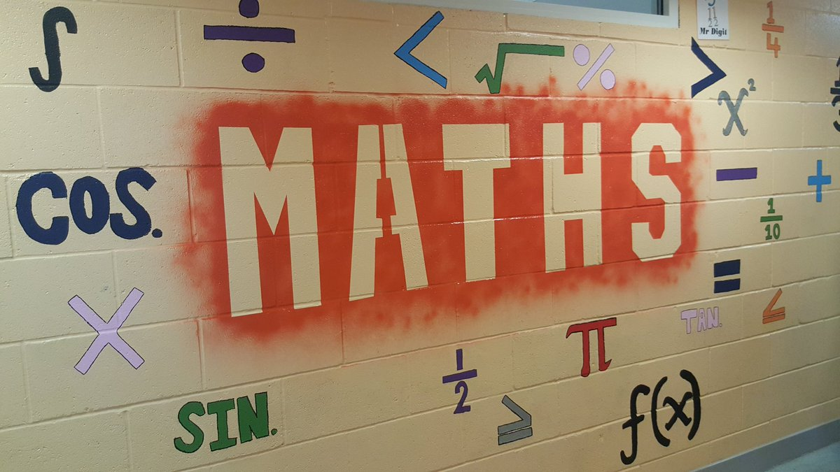 Thanks to the pupils who helped us finish decorating the corridor today, loving how colourful it looks! @drumchapelhigh #mrdigit #maths <br>http://pic.twitter.com/o89uZLrfSs