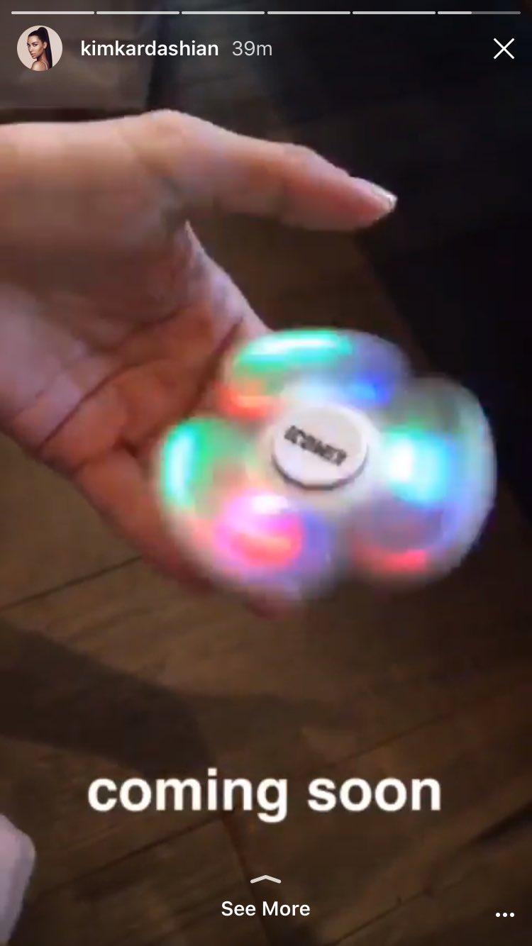 Kim Kardashian is selling fidget spinners https://t.co/HIHBDt6NNF