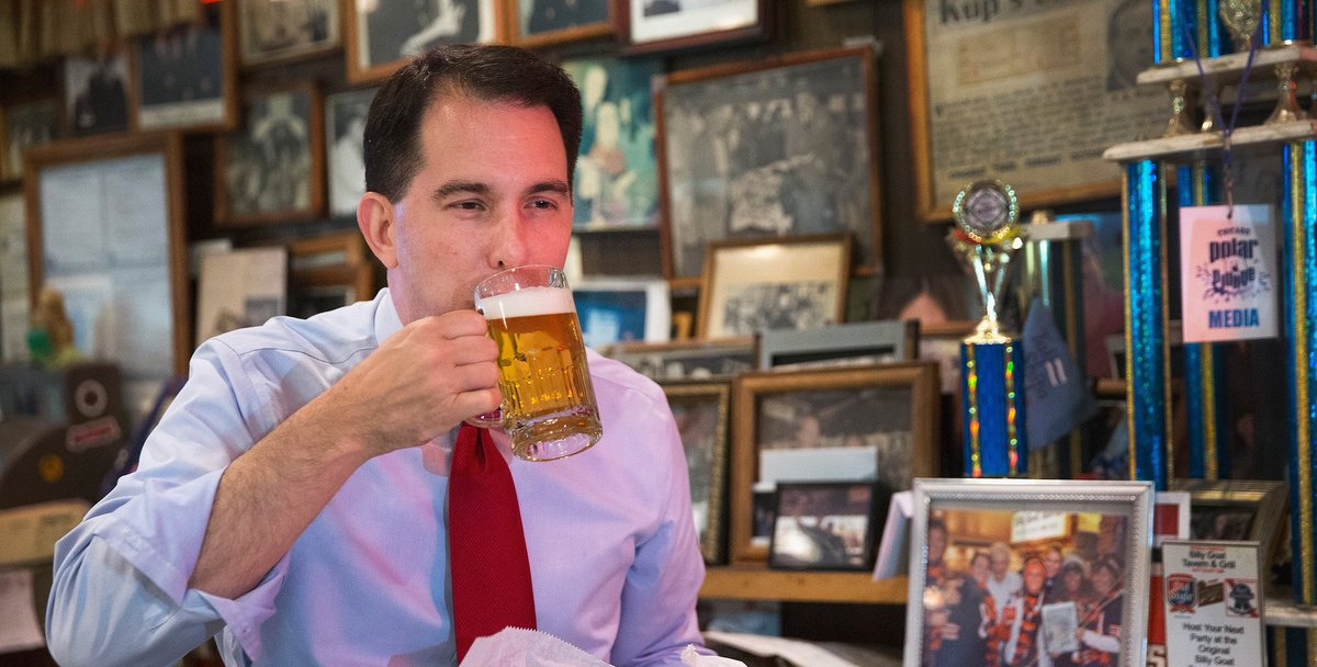 In Scott Walker's Wisconsin, the First Amendment only applies to certain people: https://t.co/PjjhbC3xpM