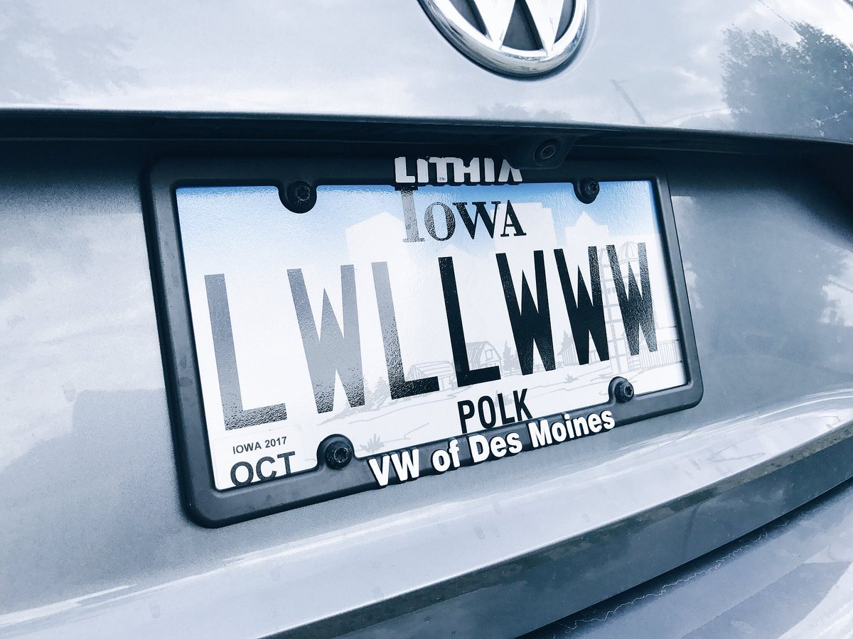 @Cubs hey guys, thought you might like my new license plates. https://...