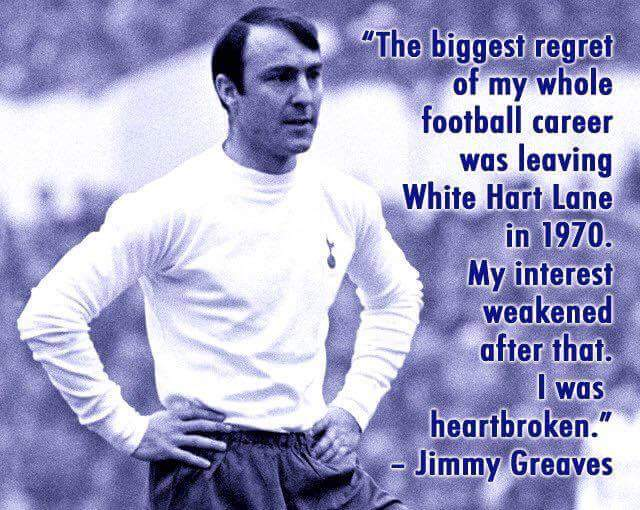 The one and only @jimmy_greaves. An absolute Legend of the game. #COYS <br>http://pic.twitter.com/G74kMmnR1y