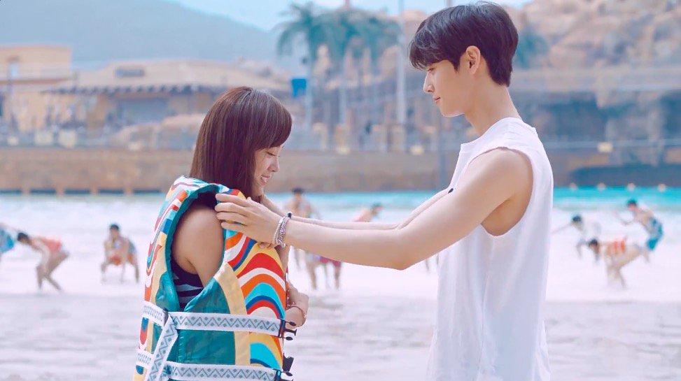 WATCH: #ASTRO's Cha Eun Woo And #gugudan's Kim Sejeong Fall In Summer...