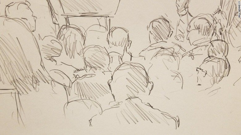 test Twitter Media - Since cameras haven't been allowed in WH press briefings, CNN sent its Supreme Court sketch artist via @brianstelter https://t.co/2qOQXCzrN6 https://t.co/1TBZDn0sL2