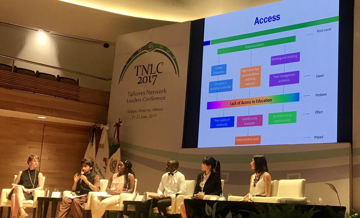 The cause-effect relation between working+studying &amp; no opportunities could be broken with #e-learning  #access #HE #TNLC17<br>http://pic.twitter.com/RWS0y4brIb