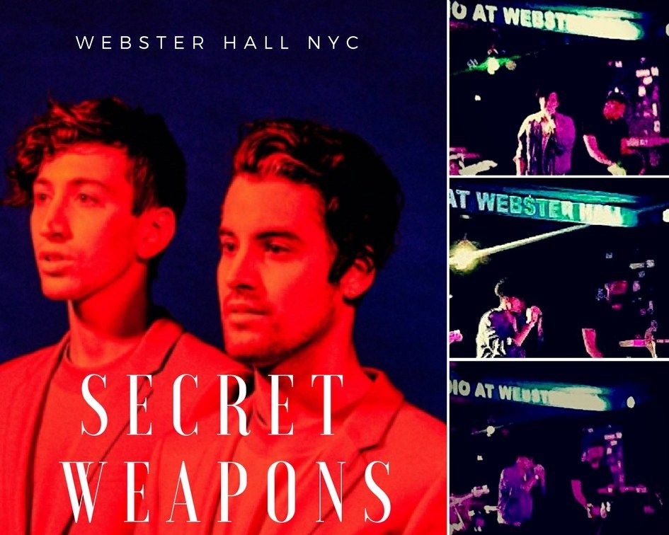 .@secretweapons #stars are #rising in their #electro #popmusic #swag  http:// buff.ly/2tVG7xg  &nbsp;   #diandrareviews #fridayfeeling #musicfriday<br>http://pic.twitter.com/DAYNHhHN81