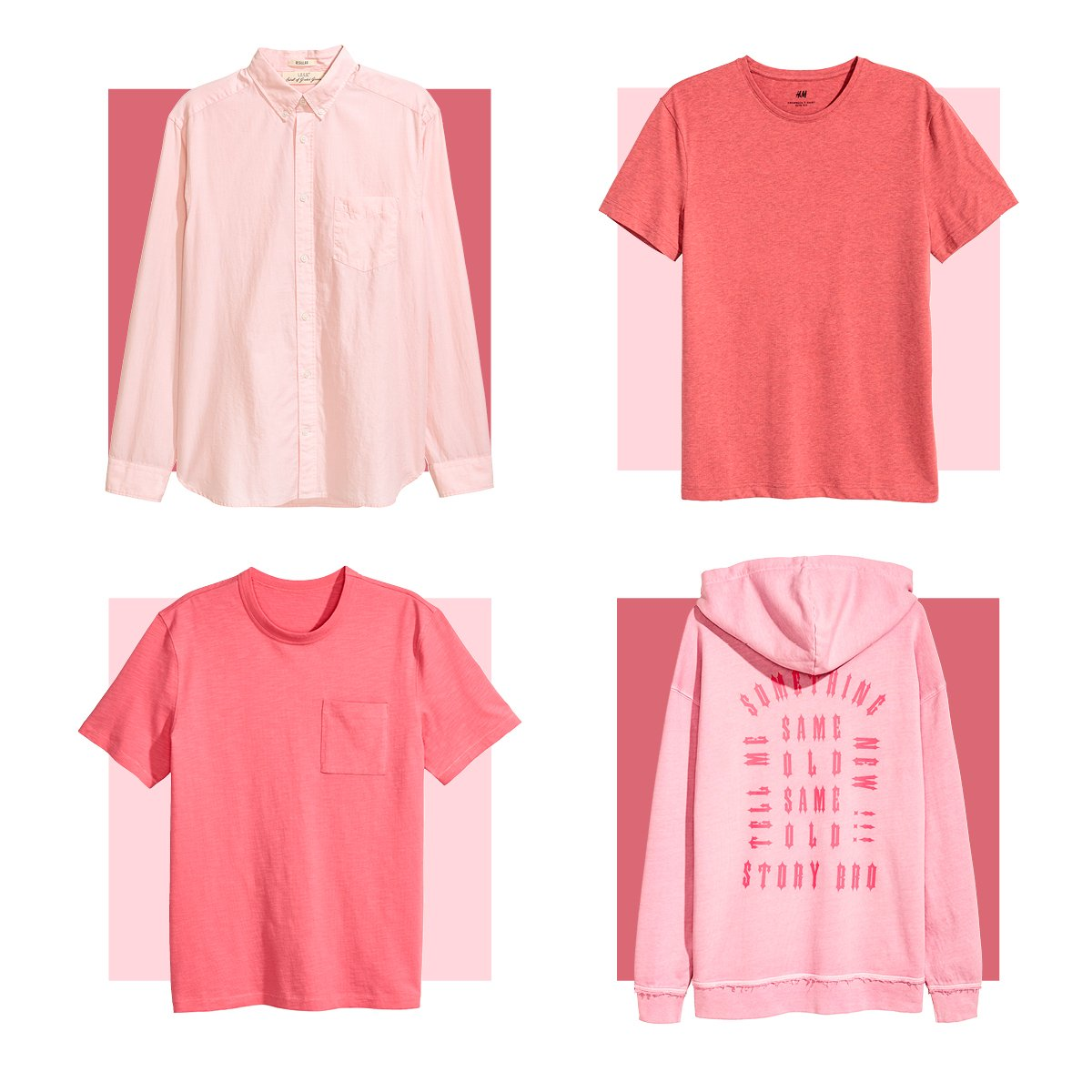 Pink isn&#39;t just for girls:  http:// hm.info/18pux  &nbsp;    #HM #NationalPinkDay<br>http://pic.twitter.com/By7dC4Oq7P