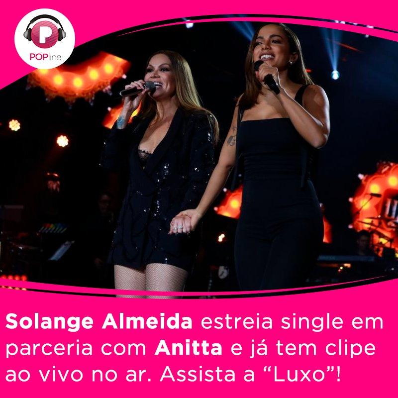 . @SolAlmeidaa libera clipe de 'Luxo', parceria com @Anitta. Vem ver:...