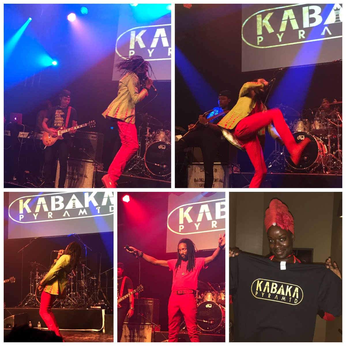 Hey my Belveds, The @bebblerock #contraband tour hit London last night.. King @Kabakapyramid tore up the stage. Look  out #Manchester!  <br>http://pic.twitter.com/If6hNqnv1n &ndash; bij Stoke Newington International Airport