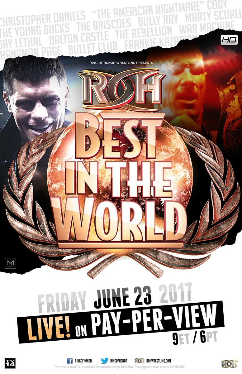 TONIGHT! LIVE on pay-per-view! 9pm Eastern/6pm Pacific. #ROHBITW https...