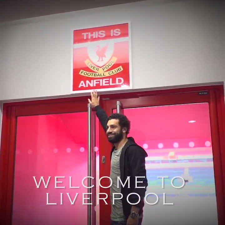 Welcome to Liverpool Football Club, @22mosalah. 🔴