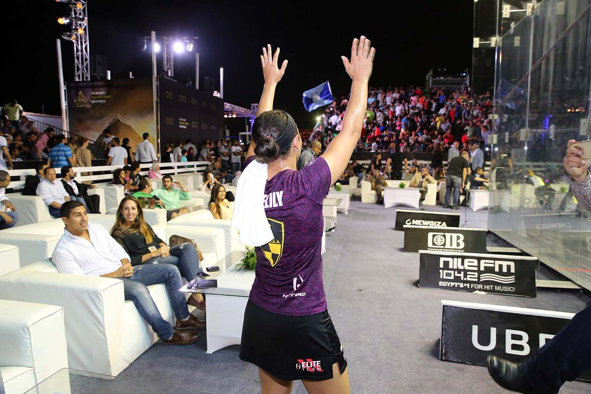 test Twitter Media - #PicturesoftheSeason - A victorious @RaneemElWelily salutes the crowd after winning the @AlAhramSquash Open! #squash https://t.co/gZggekptaM