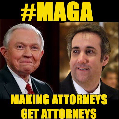 #MAGA now stands for &quot;Making Attorneys Get Attorneys&quot;   via @grantstern #TrumpRussia<br>http://pic.twitter.com/9xpWfcckyH