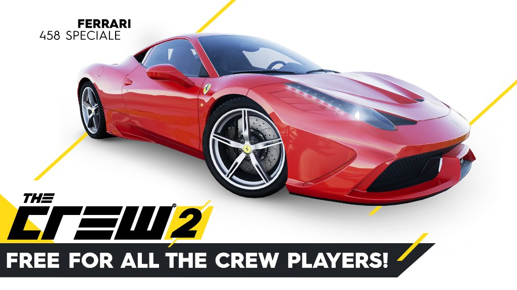 The Crew  On Twitter The Ferrari  Speciale Will Be Available For Free On The Crew  For All The Crew Players Https T Co Tkxmbdqnxl