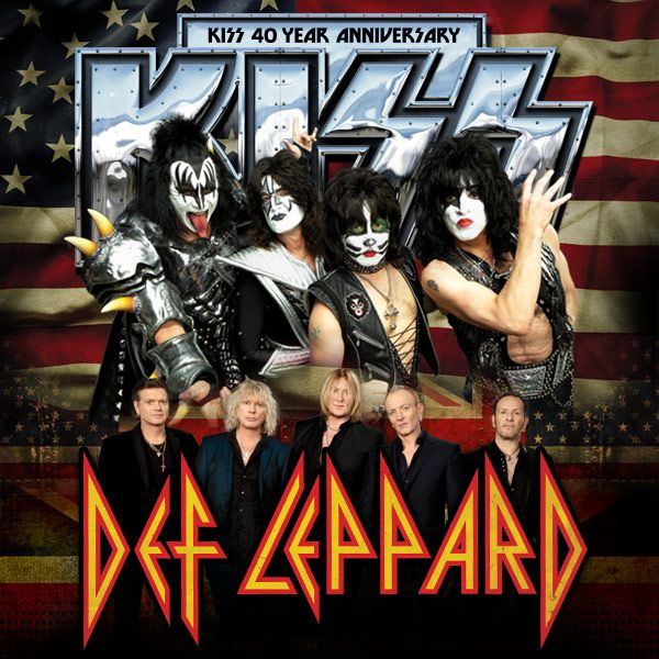 #KISSTORY June 23,2014 #KISS &amp; @DefLeppard launched US Summer Tour at SOLD OUT USANA Amphitheatre in Salt Lake City! Did you catch the tour?<br>http://pic.twitter.com/hzGd3cxTjf