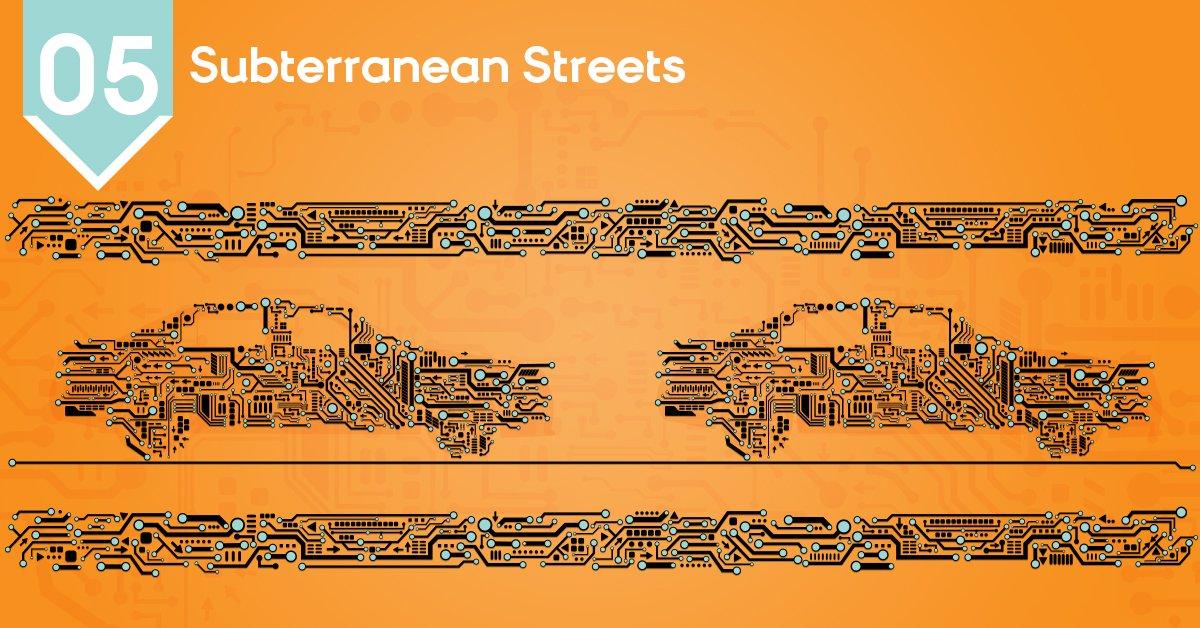 Estas carreteras subterráneas le dan un nuevo sentido a la música underground. #TechWeek https://t.co/Up7yRk49ee