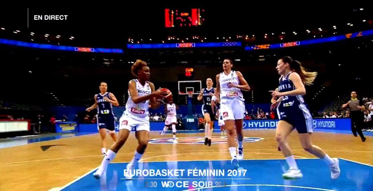 RT pour encourager les Bleues ! La demi-finale de l'#EuroBasketWomen20...