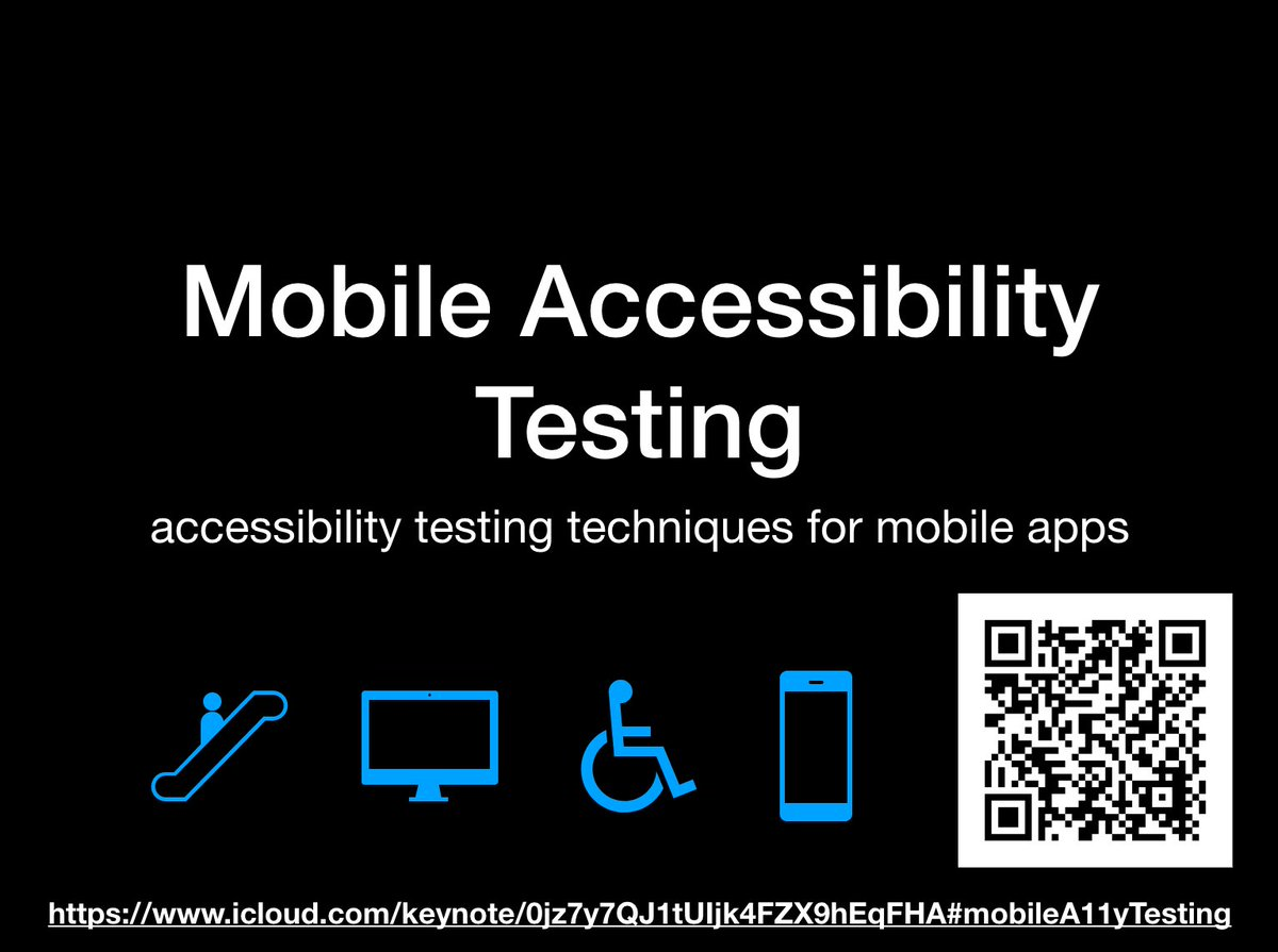 Mobile Accessibility Testing by @pauljadam  http:// ow.ly/fr7r30cPQbZ  &nbsp;   #mobile #ios #android #apple #google #appdev #webdev #qa #a11y<br>http://pic.twitter.com/GUyqi31ETh