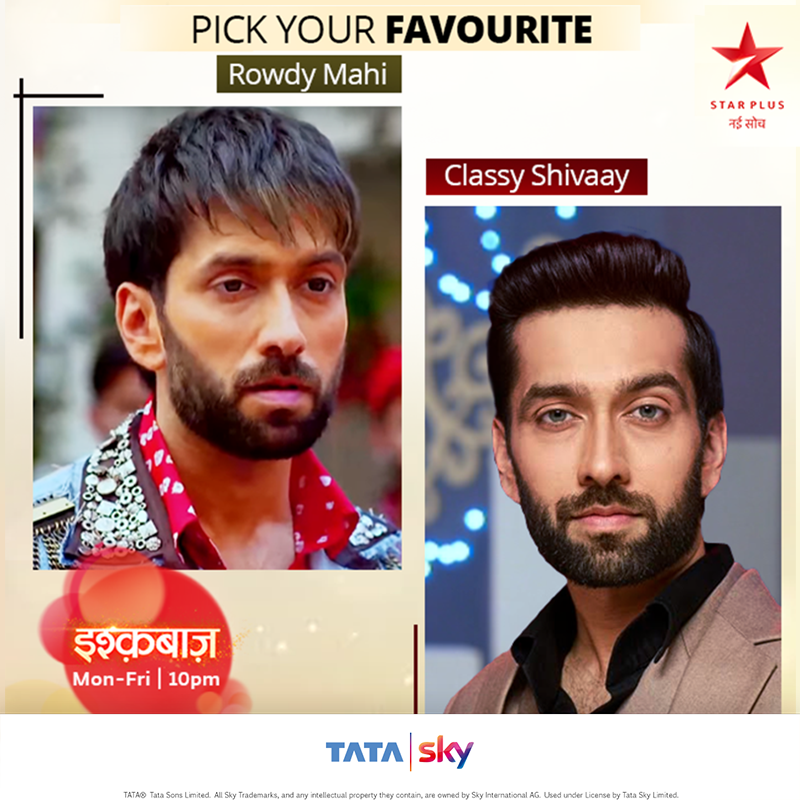 Who is your favourite Mahi or Shivaay? RT with your answer. #TuneIn to @StarPlus at 10 PM. #Ishqbaaaz<br>http://pic.twitter.com/WvFRi22NVh