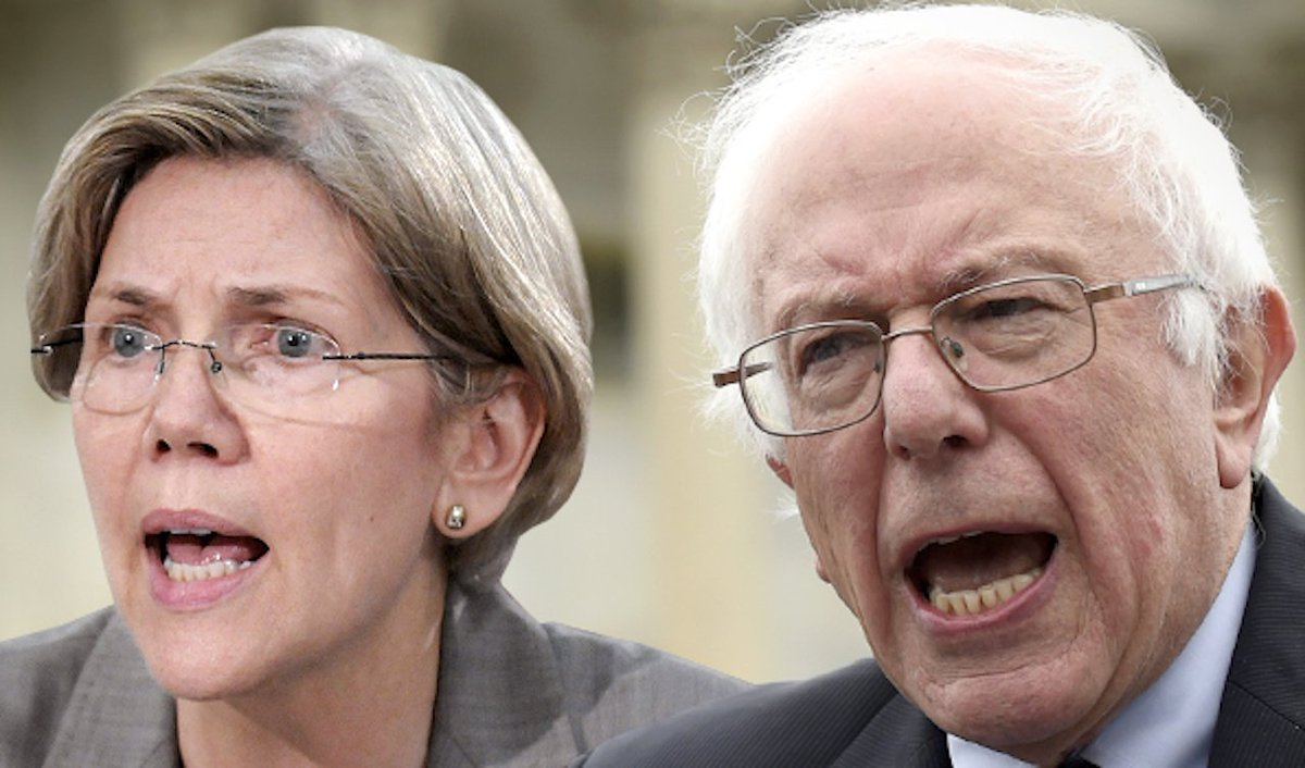 """Elizabeth Warren called the tax cuts Trumpcare is designed to produce """"blood money."""""""