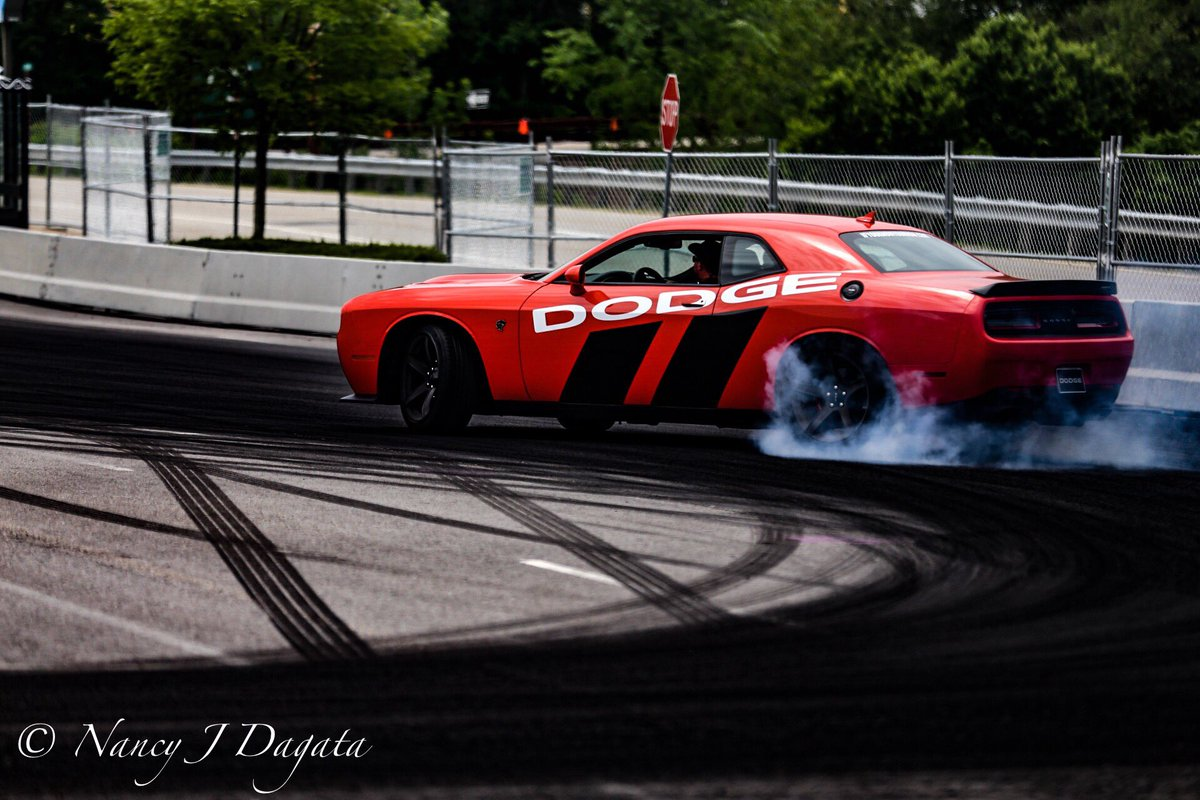 Best part of the #BarrettJacksonMohegan? The guys driving the @Dodge c...