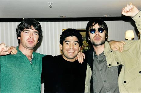 Liam Gallagher recordó el día que conoció a Diego Maradona. https://t....