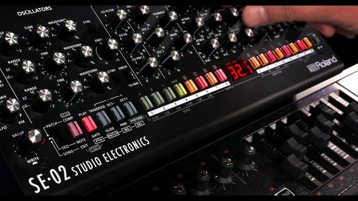 #NEW VIDEO Overview of the Roland SE-02 Analog Synthesizer  http:// buff.ly/2t0XVuD  &nbsp;   #roland #se02 @SE_BoomStar<br>http://pic.twitter.com/18d03FwiyN