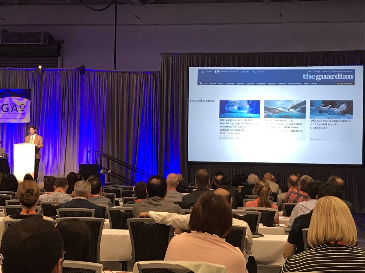 @gcundiff_UBC_OG state-of-the-art lecture on #mesh #IUGA2017<br>http://pic.twitter.com/pvv6cUrtgQ