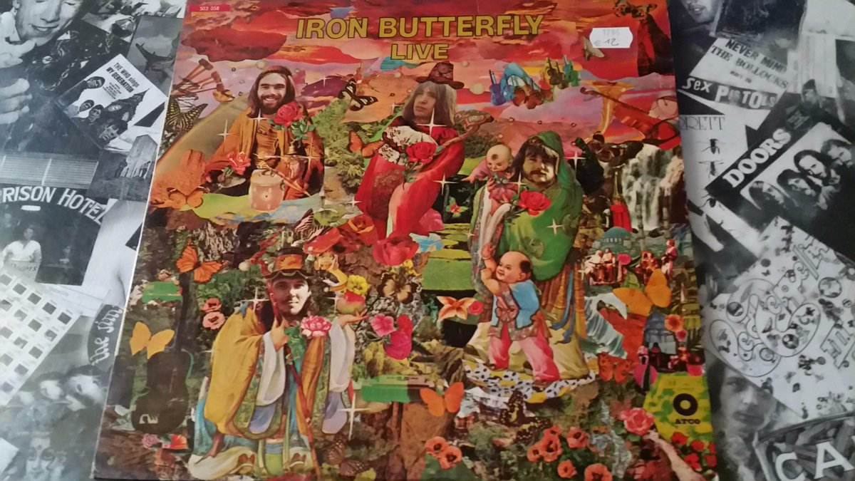 Iron Butterfly – Live (1970, Atco Records)  #Vinyle #Musique #psychedelic<br>http://pic.twitter.com/bhsQPtjucN