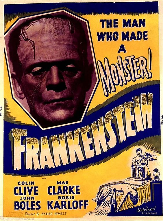 four very #rare #Frankenstein 1931 #posters among them two from original #german #release<br>http://pic.twitter.com/prryzZuVyV