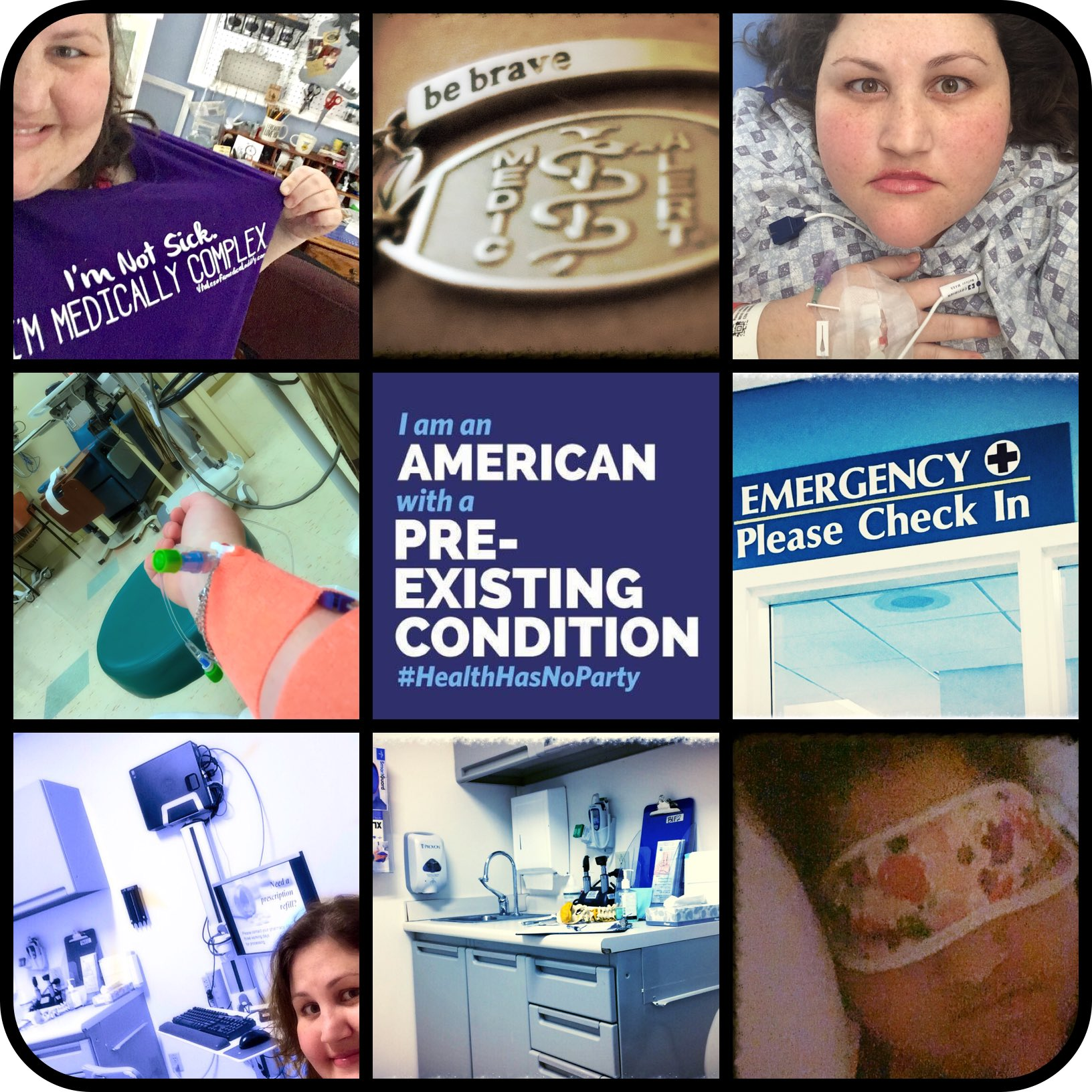 I'm a bundle of pre-existing conditions. Highlights: Cushing's/Trigeminal Neuralgia/CRPS etc.I may be young & sick but my #HealthcareMatters https://t.co/EcVlOQGxVM