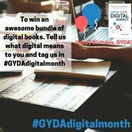 #Win a bundle of digital books for #GYDAdigitalmonth https://t.co/IwW6cQ0GB3 Tell us what digital means to you https://t.co/yIqIz1tBvT